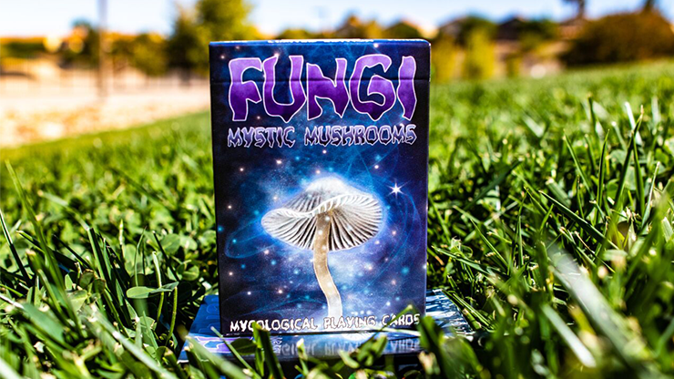 Limited Edition Fungi Mystic Mushrooms Mycological Playing Cards