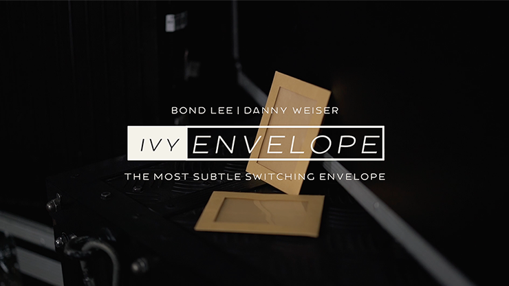 IVY ENVELOPE (Gimmicks and Online Instructions) by Danny Weiser, Bond Lee and Magiclism Store Trickkuverts für Verwandlungen etc.