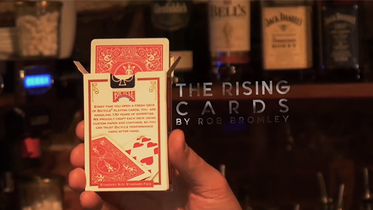 Alakazam Magic Presents The Rising Cards Red (DVD and Gimmicks) by Rob Bromley