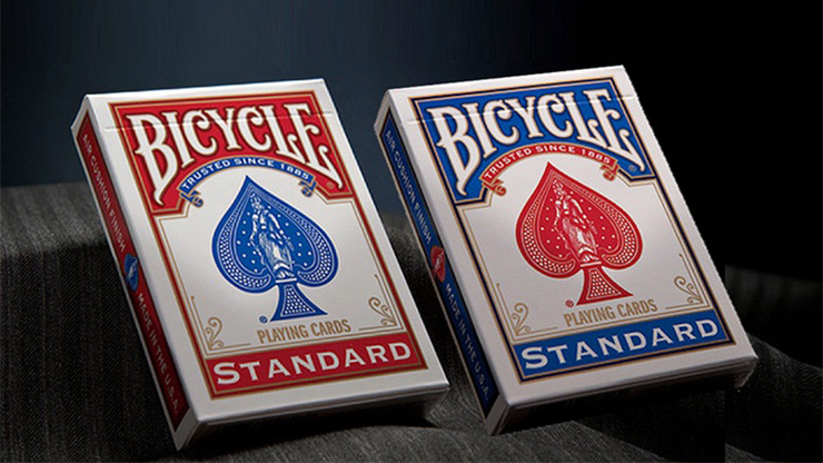 Bicycle Standard Playing Cards in Mixed Case Red/Blue (12pk) by USPCC