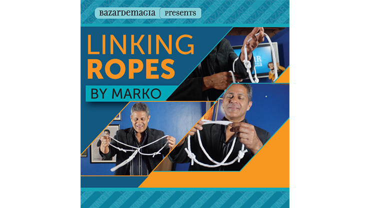 Linking Ropes (Ropes and Online Instructions) by Marko Chinesisches Ringspiel mit Seilen
