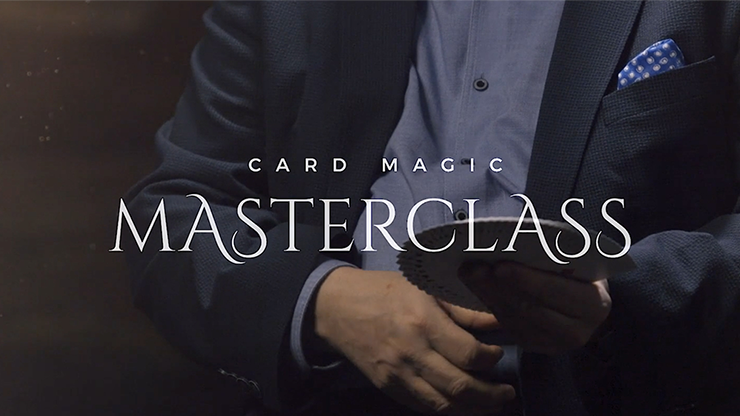 Card Magic Masterclass (5 DVD Set) - Roberto Giobbi - DVD