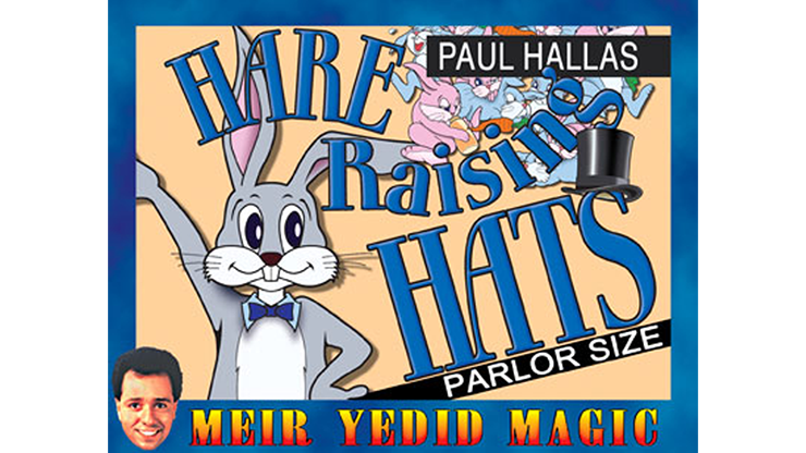 Hare Raising Hats (Parlor Size) & Paul Hallas
