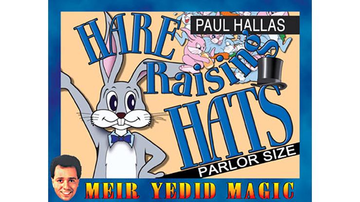Hare Raising Hats (Parlor Size) by Paul Hallas Kartentrick, Hasen aus Hüten produzieren