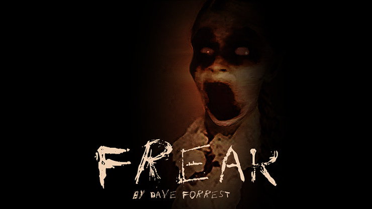 Freak (Gimmicks and Online Instructions) by Dave Forrest