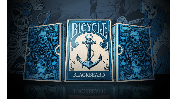 Cartas Bicycle Blackbeard Limited Edition Playing Cards - Bocopo