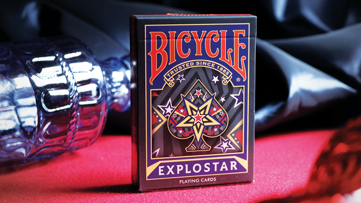 Bicycle Explostar Playing Cards MagicWorld Magic Shop