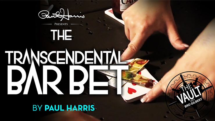 The Vault The Transcendental Bar Bet by Paul Harris video DOWNLOAD