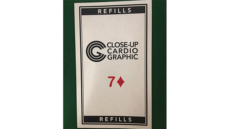 7D Refill Close-up Cardiographic - Martin Lewis