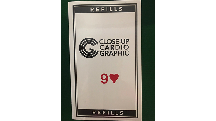 9H Refill Close-up Cardiographic by Martin Lewis Nachfüllmaterial