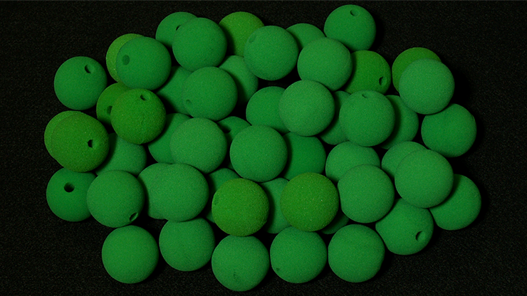 Noses 1.8 inch (Green) Bag of 50 from Magic by Gosh
