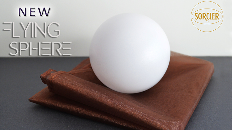 NEW FLYING SPHERE (With Remote) by Sorcier Magic - Trick