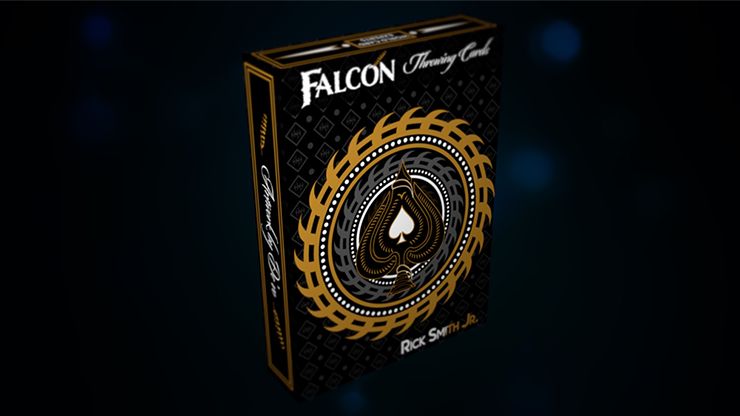 Falcon Throwing Cards by Rick Smith Jr. and De'vo Poker Kartenspiel Spielkarten