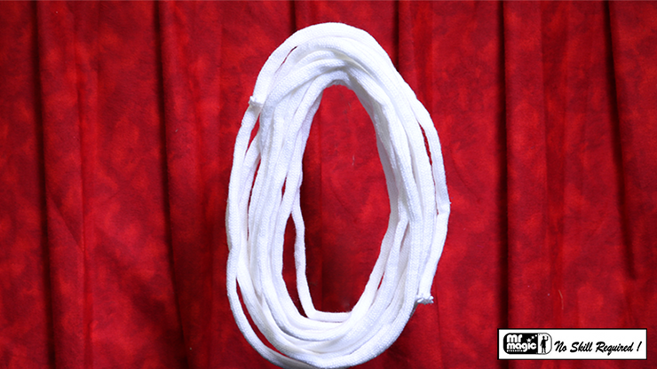 SUPER SOFT WOOL ROPE NO CORE 25 ft. (Extra-White) - Mr. Magic