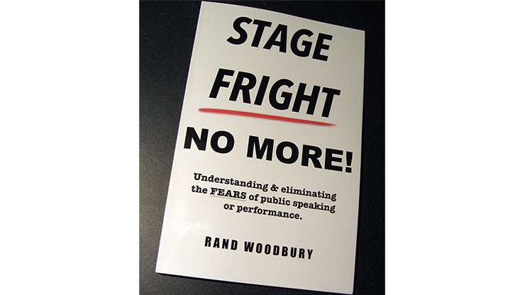 STAGE FRIGHT - NO MORE! - R & Woodbury - Libro de Trucos de Magia