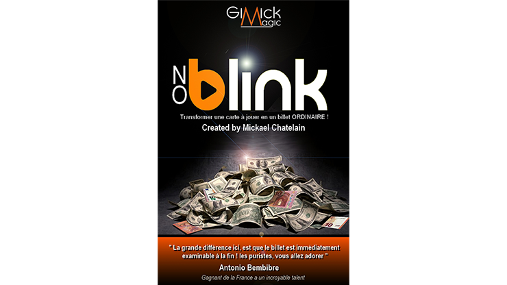 NO BLINK BLUE (Gimmick & Instrucciones Online) - Mickael Chatelain - DVD