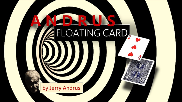 Andrus Floating Card Blue (Gimmicks and Online Instructions) by Jerry Andrus Karte schweben lassen
