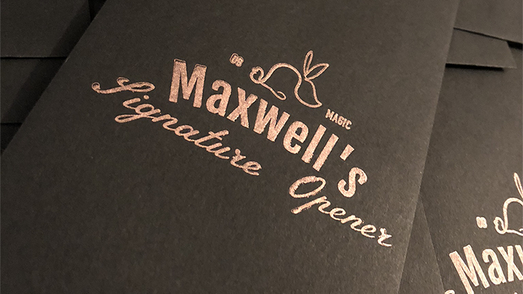 Maxwell's Signature Opener (Gimmicks & Instrucciones Online) - The Other Brothers