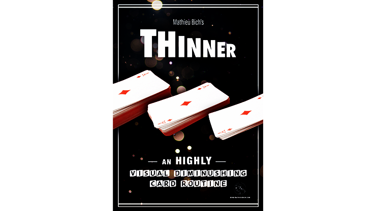 THINNER (Gimmick and Online Instruction) - Mathieu Bich