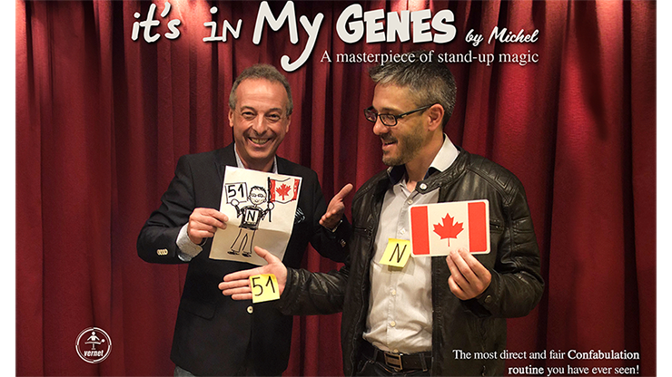 It's in My Genes (Gimmicks & Instrucciones Online) - Michel