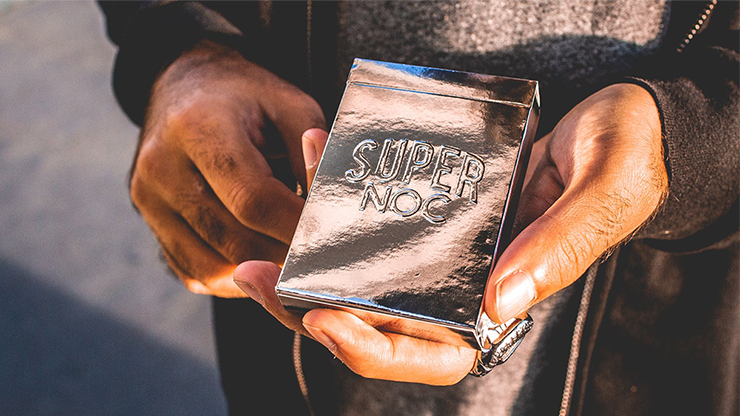 Limited Edition NOCs of Steel Playing Cards (Silver)