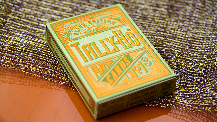 Limited Edition Olive Tally Ho Playing Cards - Jackson Robinson