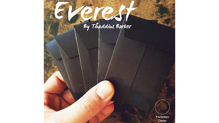 Everest (Gimmicks and Online Instructions) by Thaddius Barker Produced by Mentalism Center Neues Peek-Kuvert