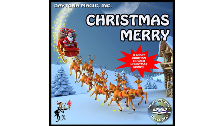 CHRISTMAS MERRY by Daytona Magic