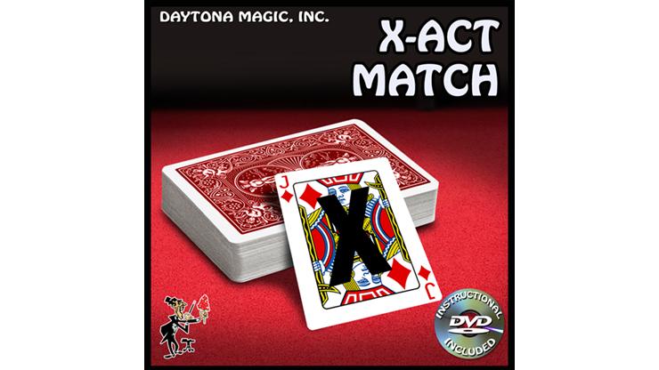 X ACT Match by Daytona Magic Zuschauer nennt frei einzige markierte Karte im Deck