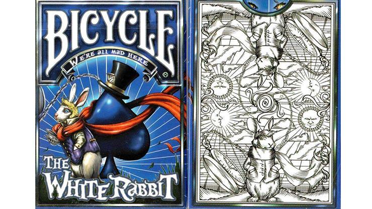 Bicycle White Rabbit Playing Cards Poker Kartenspiel Spielkarten