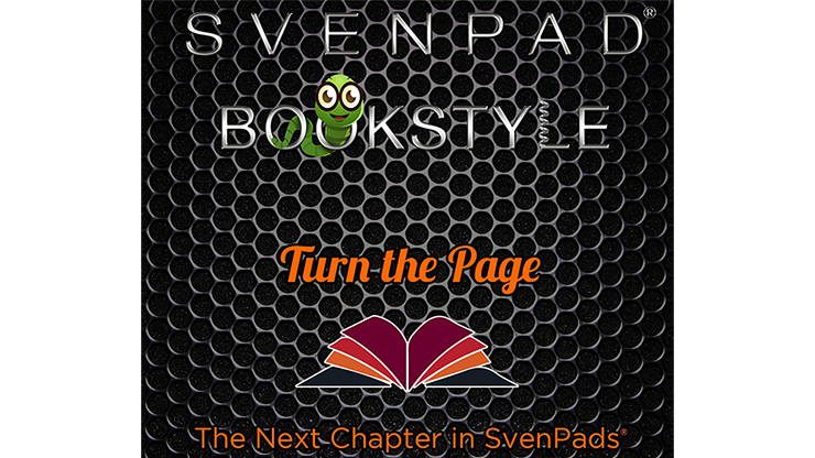 SvenPad® Bookstyle (Black and Green)
