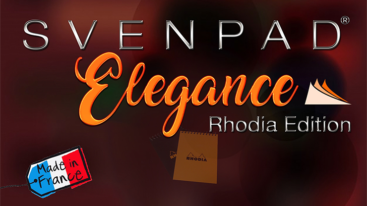 SvenPad® Elegance Rhodia® Edition (Single, Orange Cover)