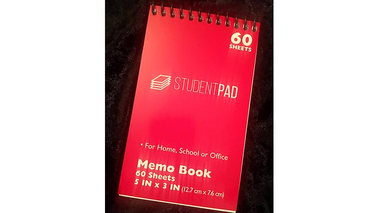 SvenPad KoD Memo Pad (Red, Single)