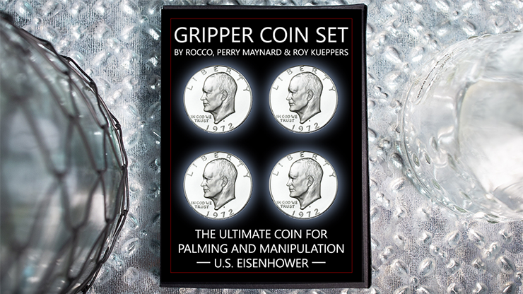 Gripper Coin (Set/U.S. Eisenhower) by Rocco Silano