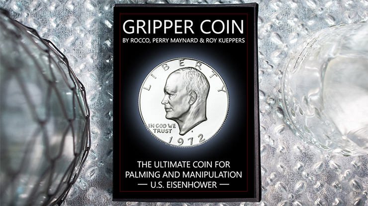Gripper Coin (Single/U.S. Esienhower) by Rocco Silano