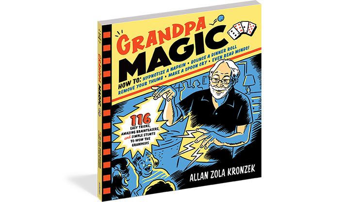 Grandpa Magic - Workman Publishing - Libro de Trucos de Magia