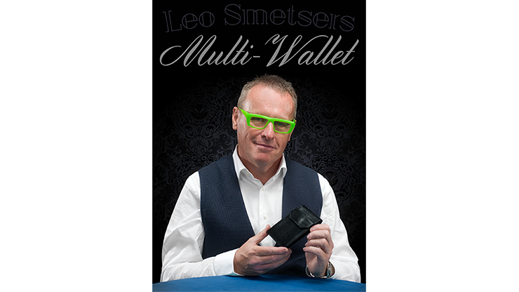 Multi-Wallet (Gimmick and Online Instructions) by Leo Smetsers