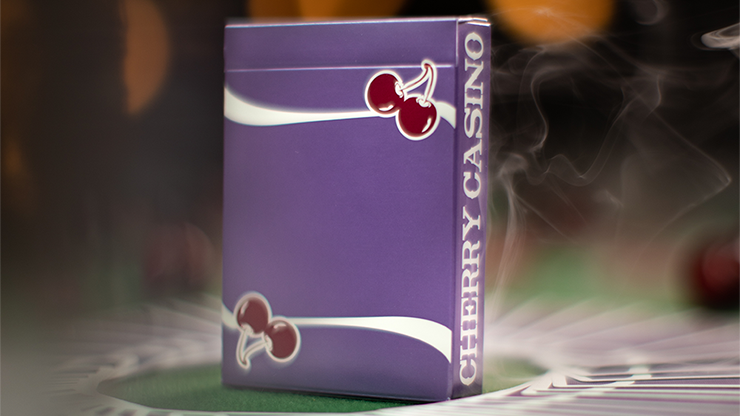 Cherry Casino Fremonts (Desert Inn Purple) Playing Cards - Pure Imagination Projects