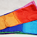 Multicolored Silk Streamer 9 inch by 30 ft from Magic by Gosh