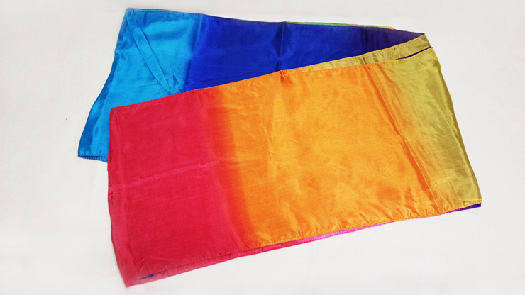 Multicolored Silk Streamer 12 inch by 15 ft from Magic by Gosh Bunter Seidenstreamer 30 x 415 cm