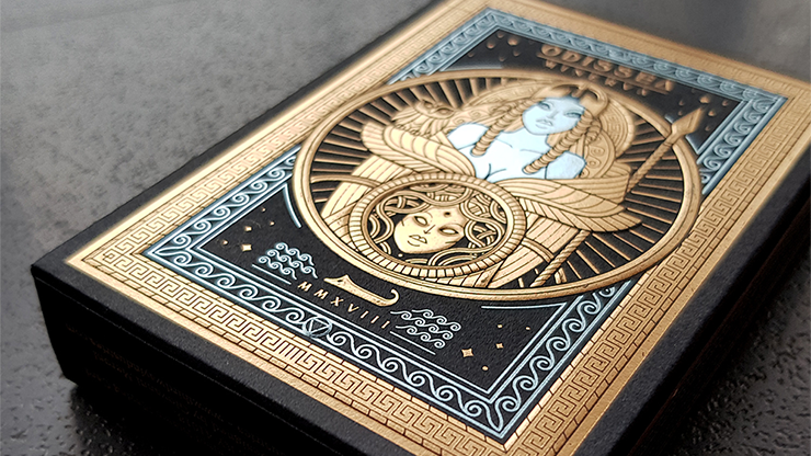 Odissea Minerva Playing Cards by Giovanni Meroni Poker Spielkarten Kartenspiel