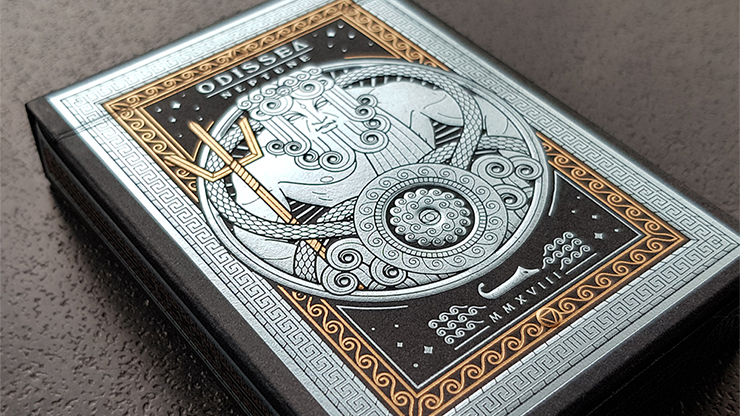 Odissea Neptune Playing Cards by Giovanni Meroni Poker Kartenspiel Spielkarten