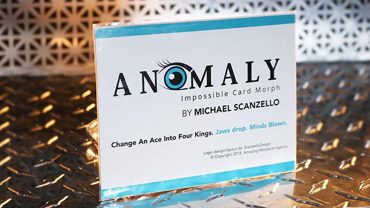 Anomaly (Gimmicks & Online Instruction) - Michael Scanzello