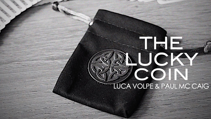 The Lucky Coin (Gimmicks and Online Instructions) by Luca Volpe and Paul McCaig - Trick