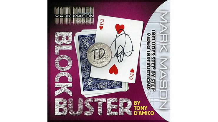 BLOCK BUSTER Red (Gimmick & Instrucciones Online) - Tony D'Amico & Mark Mason