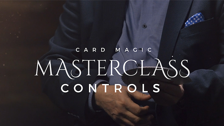 Card Magic Masterclass (Controls) - Roberto Giobbi - DVD