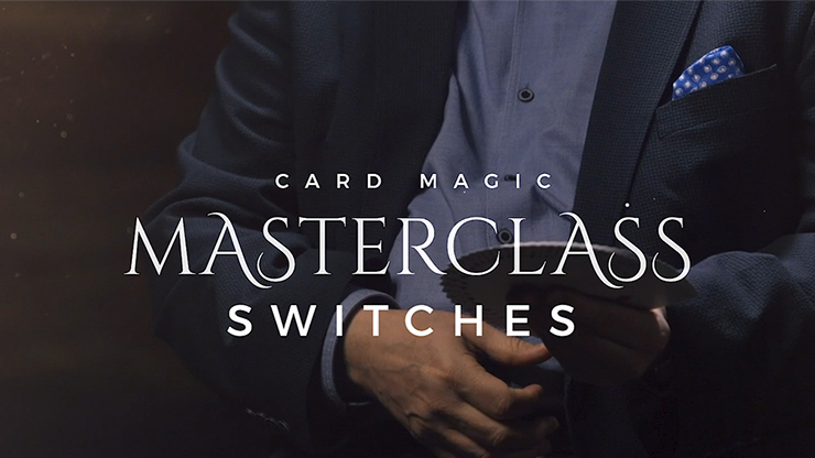 Card Magic Masterclass (Switches) by Roberto Giobbi - DVD