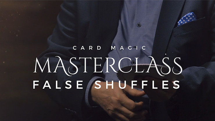Card Magic Masterclass (False Shuffles & Cuts) - Roberto Giobbi - DVD
