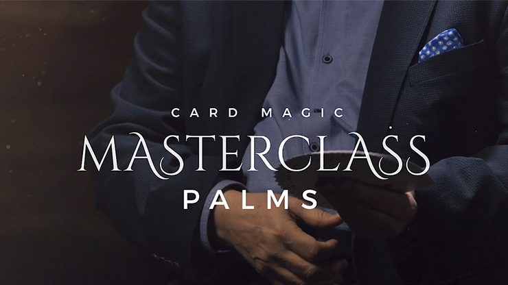 Card Magic Masterclass (Palms) by Roberto Giobbi - DVD