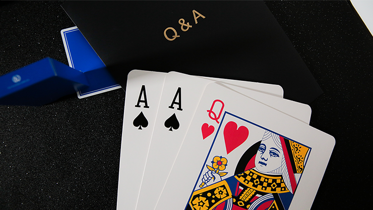 Q & A Jumbo Three Card Monte by TCC Neue Three Card Monte-Routine mit Jumbo-Karten